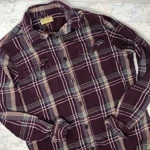 Sonoma Life + Style Flannel Button Up Shirt